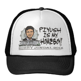 Piyush is My Homeboy 2012 Gear Cap