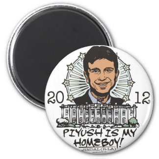 Piyush is My Homeboy 2012 Gear Magnet