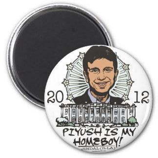 Piyush is My Homeboy 2012 Gear Fridge Magnet