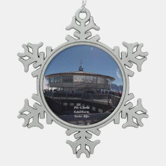 Piz Gloria Snowflake Ornament 1