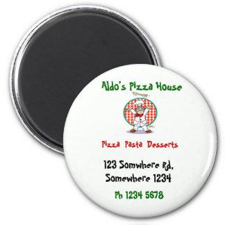 pizza2 fridge magnets