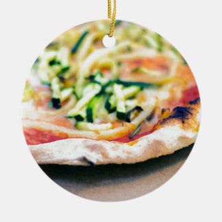 Pizza-12 Christmas Ornament