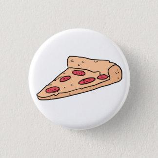 pizza 3 cm round badge