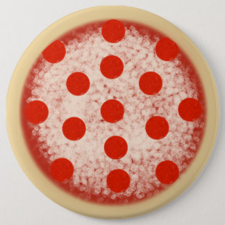 Pizza! 6 Cm Round Badge