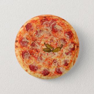 Pizza 6 Cm Round Badge
