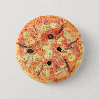 Pizza 6 Cm Round Badge