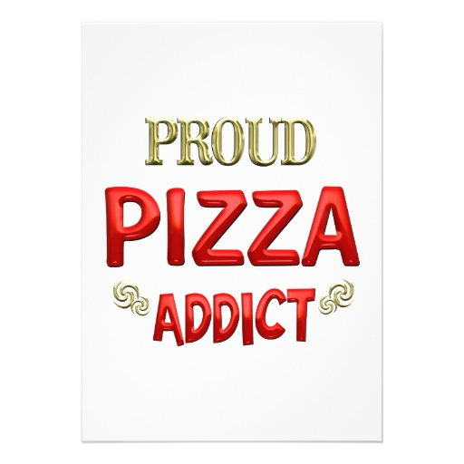 Pizza Addict Invite