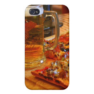 Pizza And Beer iPhone 4 Case