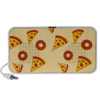 Pizza and donuts portable speaker