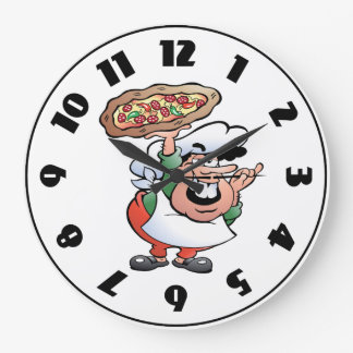 Pizza Baker Clock