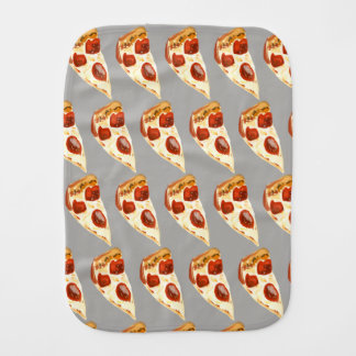 Pizza Burp Cloth