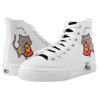 Pizza Cat! Printed Shoes