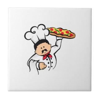 PIZZA CHEF SMALL SQUARE TILE