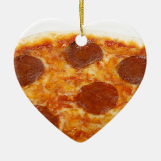 Pizza Christmas Ornament