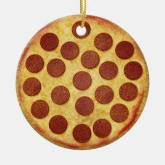 Pizza Christmas Tree Ornament