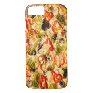 Pizza Close Up iPhone 8/7 Case