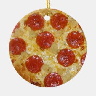 PIZZA custom ornament