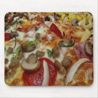 Pizza Customized Mousepad, Pizza Mouse Mat