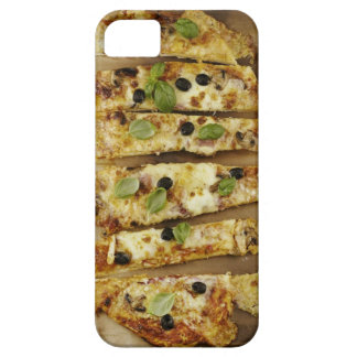 Pizza cut into pieces case for the iPhone 5