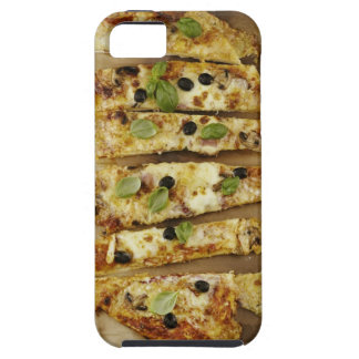 Pizza cut into pieces iPhone 5 cover