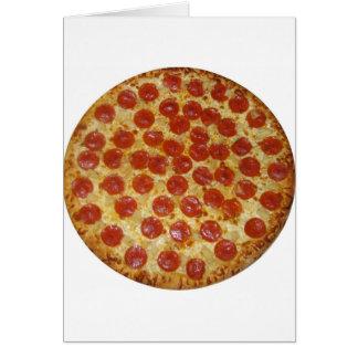Pizza...Delicious Pepperoni Pizza Card