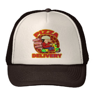 Pizza Delivery Cap