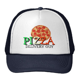 Pizza Delivery Guy Cap