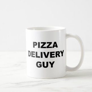 Pizza Delivery Guy Coffee Mug