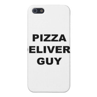 Pizza Delivery Guy Cover For iPhone 5