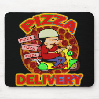 Pizza Delivery Mouse Pad