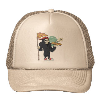 Pizza delivery reaper grim cap