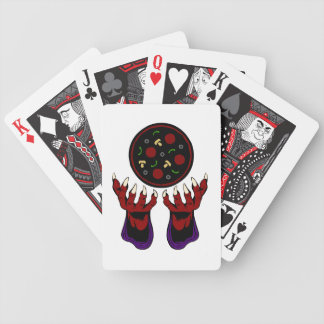 Pizza Demon – Summoner of Deliciousness Bicycle Playing Cards