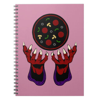 Pizza Demon – Summoner of Deliciousness Notebook