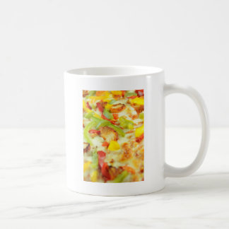 Pizza detail coffee mug