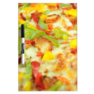 Pizza detail dry erase board