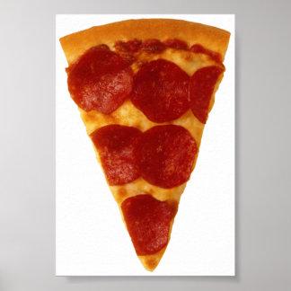 Pizza Fan Poster