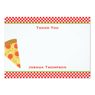 Pizza Flat Note Card