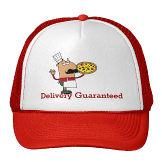Pizza Guy Mesh Hats