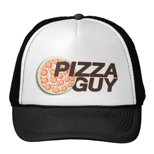 Pizza Guy Hat | Pizza Delivery Hat
