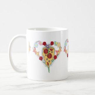 Pizza Has My Heart Coffee Mug