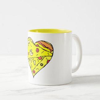 Pizza Heart Mug