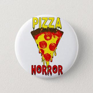Pizza & Horror 6 Cm Round Badge