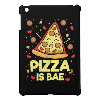 Pizza Is Bae - Cute Kawaii Funny Cartoon - Novelty iPad Mini Covers