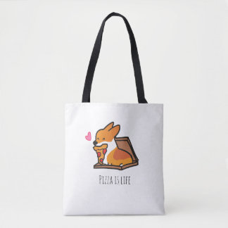 Pizza is Life Corgi Bag | CorgiThings