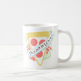 Pizza is Love Coffee Mug