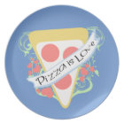 Pizza is Love Plate