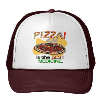 Pizza is the Best Medicine Cap
