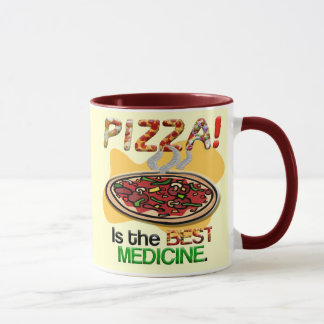 Pizza is the Best Medicine Mug