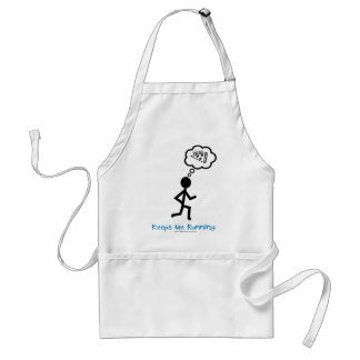 Pizza - Keeps Me Running Aprons