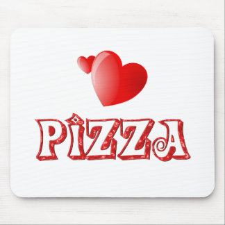 Pizza Love Mouse Mat